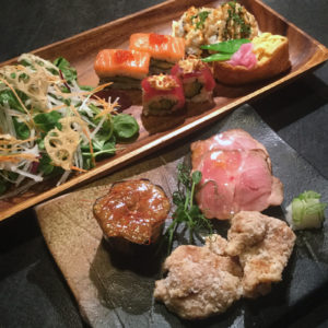 many genuine japanese dishes are available for catering