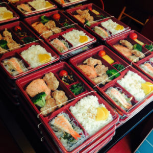 genuine japanese bento. eat like a japanese!